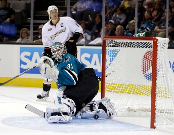 Sharks Lose To Ducks