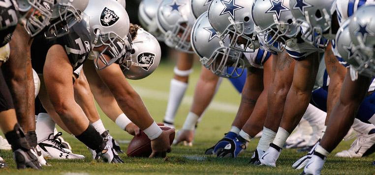 Cowboys Raiders Football