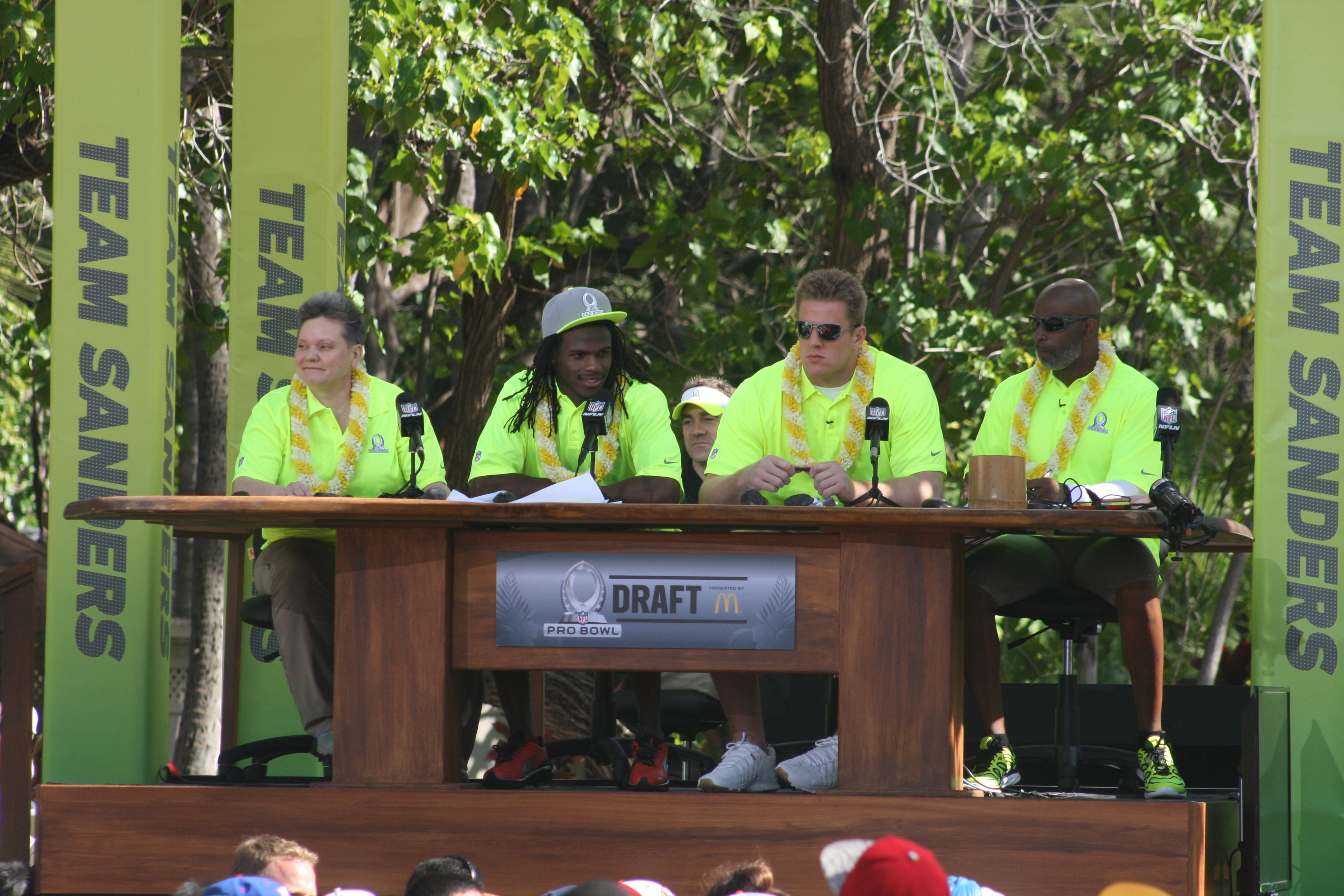 Photo Gallery: 2014 Pro Bowl Draft