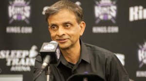 Sep 24, 2013; Sacramento, CA, USA; Sacramento Kings majority owner Vivek Ranadive answers questions from the media during a press conference at Kings Practice Facility. Mandatory Credit: Ed Szczepanski-USA TODAY Sports