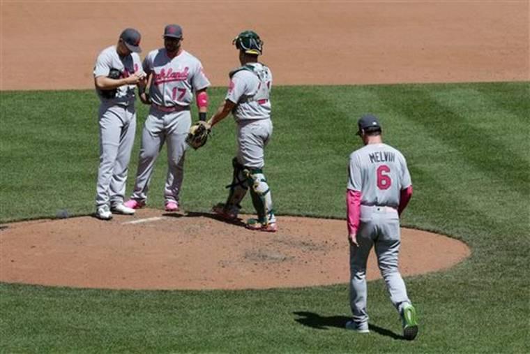 693Athletics Orioles Baseball