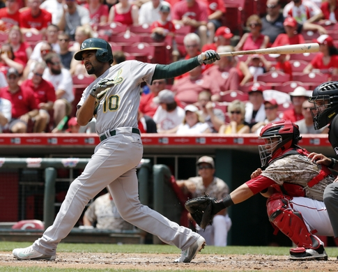 MLB: Oakland Athletics at Cincinnati Reds