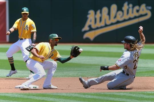 MLB: Pittsburgh Pirates at Oakland Athletics