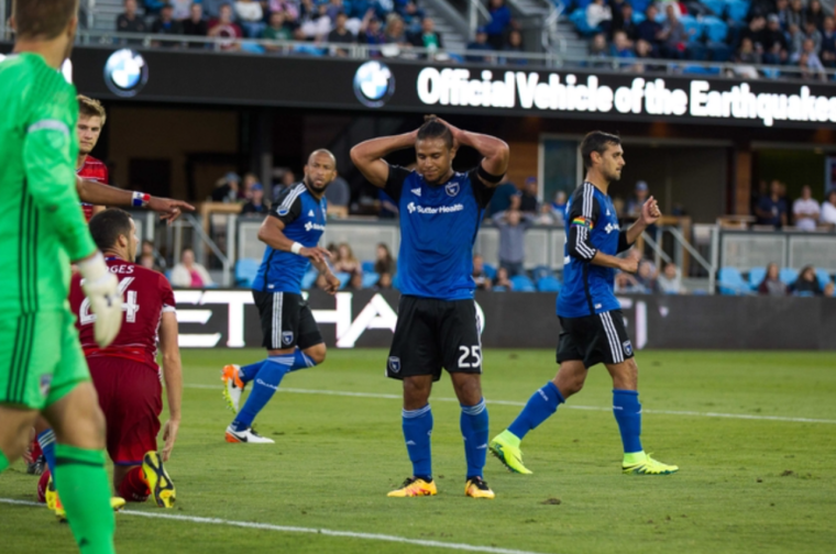 The Earthquakes dropped their first home match all year on Friday against FC Dallas (Kelley L Cox / USA Today Sports)
