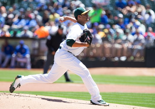 MLB: Chicago Cubs at Oakland Athletics