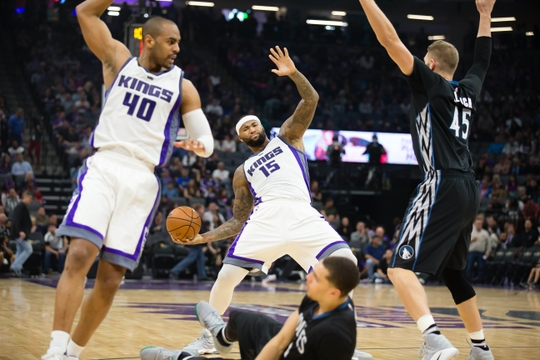 NBA: Minnesota Timberwolves at Sacramento Kings