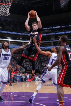 Miami Heat v Sacramento Kings