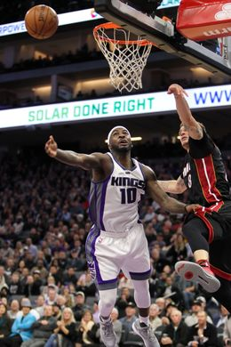NBA: Miami Heat at Sacramento Kings