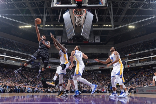 Golden State Warriors v Sacramento Kings