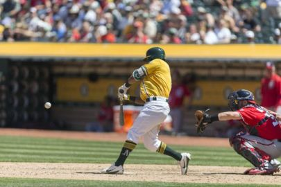 MLB: Washington Nationals at Oakland Athletics