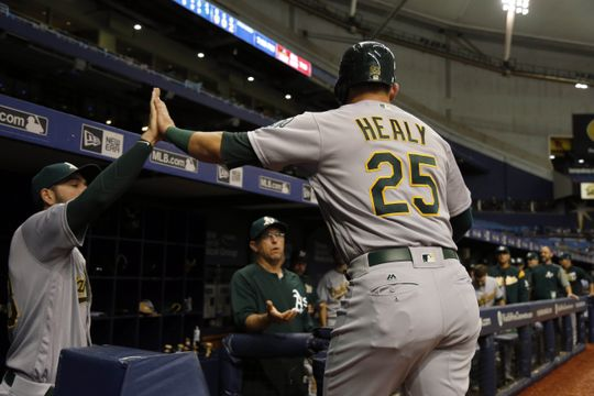 MLB: Game Two-Oakland Athletics at Tampa Bay Rays