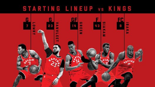 raptors kings tor starters